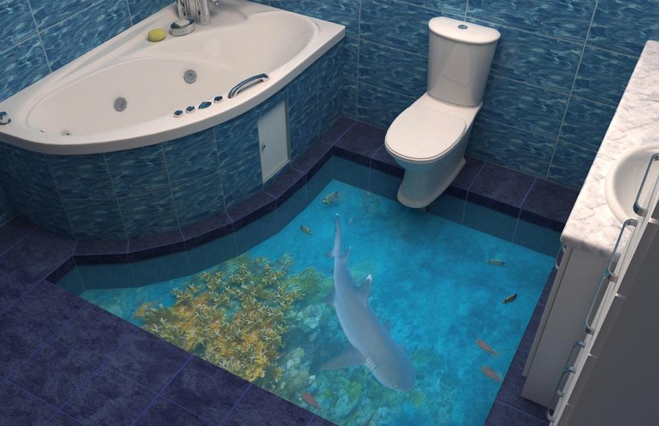 Наливные 3D-полы в Екатеринбурге